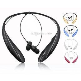 Wholesale universal bluetooth handsfree headset - HBS 800 HBS800 Bluetooth Headphones Wireless Earphone Tone Ultra Bluetooth 3.0 Stereo Earphone sport Handsfree in-ear No logo With Box