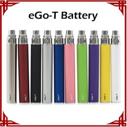Wholesale Ego Cigarette Ce4 Ce5 Clearomizer - Ego-t Battery Electronic Cigarette E-cig Ego Batteries match CE4 CE5 clearomizer 510 thread battery Ego t Battery