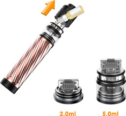 Wholesale Building Mechanical - Good quality clone Geekvape karma kit from china factory directly 18650 mechanical MOD kit Big post-holes for bigger coil build 5ml tank