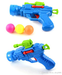 Wholesale wood toy guns - Stretch Tennis Classic toy gun Yiwu strange new stall selling children's toys wholesale supply
