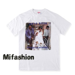 Wholesale T Shirt Boy Woman - 2017 Fashion 2Pac I Rap-A-Lot Geto Boys Tee PARENTAL ADVISORY box logo Hip hop Skateboard T-shirt Men Women Cotton Casual TShirt