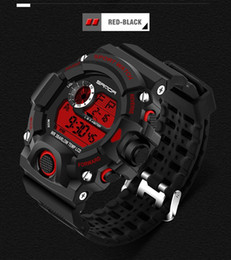 Wholesale Multifunctional Digital Watch - Hot Sale Sanda Military Multifunctional Men's Sports Watches Men Sports Watches Waterproof Fashion Casual Quartz Watch Digital & Analog