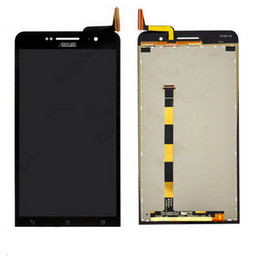 Wholesale Touch Screen Digitizer For Asus - Wholesale- For Asus ZenFone 6 zenfone6 A600CG A601CG New Full LCD Display Panel Screen + Digitizer Touch Screen Glass Assembly Freeshipping