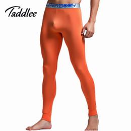 Wholesale Male Sexy Pants - Wholesale-Mens Man long sexy tight pants fashion full length pants penis pouch men male harem trousers Casual Pencil sweatpants Stretch