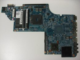 Wholesale Motherboard Dv7 Laptop - Laptop Motherboard For DV7 DV7-6000 666518-001 645384-001 for AMD cpu with A70M integrated graphics
