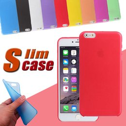 Wholesale Transparent Plastic Iphone 4s - For iPhone X 8 0.3mm Soft PP Ultra Thin Slim Matte Frosted Clear Transparent Flexible Cover Case For iPhone 7 Plus 6S 5 4S Samsung S8 Note 8