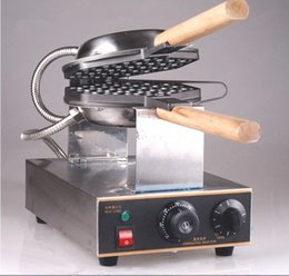Wholesale Waffle Sticks Maker - CE Certificate Electric egg waffle maker machine waffle pan egg eggette puff makers Stainless steel 110V 220V come with 6 free gifts