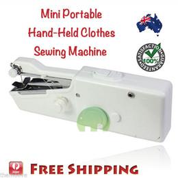 Máquina de coser de mano inalámbrica portátil puntada Inicio Mini ropa Free Post desde fabricantes