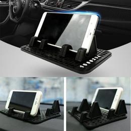Wholesale Phone Holder Bmw - Silicon Hot sale Car Non anti Slip mat Silica Get Antiskid pad car phone stand instrument table mobile phone holder GPS navigation bracket