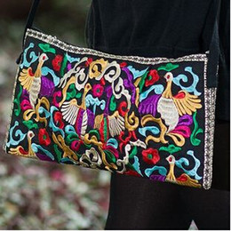 Wholesale Handbags Ship Prices - Wholesale-Free Shipping !2015 promotion price wholesale Embroidered bags small gorgeous shoulder cross-body women's handbag fashion bags
