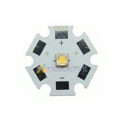 Wholesale Cree Star - Wholesale- 10PCS Cree XLamp XPG2 XP-G2 Warm White 1W~5W 490LM LED Light Lamp Bulb With 20mm Star PCB Free shipping