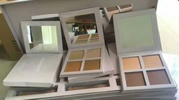 Wholesale New Light Beauty - NEW! Kylie Cosmetics KKW Beauty Powder Contour & Highight Kit+ Brush 3 different kits set Light Medium Dark DHL shipping