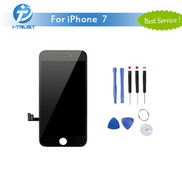 Wholesale Screen Replacement Tools - Free Shipping LCD Display For iPhone 7 7G Touch Digitizer High Quality Replacement+ Free Repair Tools