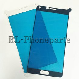 Wholesale Version Galaxy Note - 100pcs lot Adhesive glue lcd touch screen front outer lens glass frame For Samsung Galaxy note 5 note 4 J5 J7 2015 version note 3 sticker