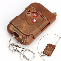 Wholesale rf 315mhz - Wholesale- 1Pc 2 Keys 315MHz Wireless RF Remote Control Controller For Garage Gate Door-50PA