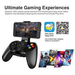 Wholesale Cheapest Cellphones - Cheapest Wireless Gamepad Ipega PG-9078 Bluetooth Game Console Gaming controller for Android iOS Cellphone PC Laptop TV Free Shipping