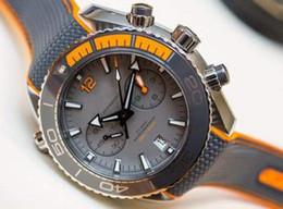 Wholesale New Chronograph Watches Men - Top Mens Chronograph VK Quartz Watch Men Chronometer Master 600m Co Axial Swiss Watches Men Dive Sport Date Professional 007 Wristwatches