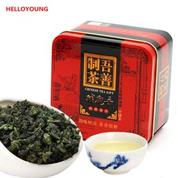 Wholesale Tieguanyin Tea Gift - C-WL064 Healthy 155g 10 packs Superior Chinese TiKuanYin Green Tea,TieGuanYin Oolong Tea, Green Food Gift Packing Iron cans Packing