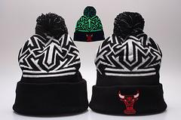 Wholesale Bull Hats - 2017 Fashion Knitted Football Winter hats for men women Embroidery Bulls Beanies winter ALL Teams warm beanies gorro Basketball Bonnet Cap