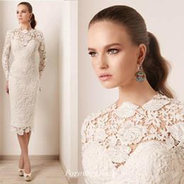 Canada Robe de Mariée en Mousseline Robe de Mariée à Manches Longues cheap ivory colour wedding dresses Offre