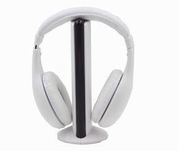 Wholesale Earphone Tv - 2016 Hot Sale 5 in 1 Wireless Headphones Watch Tv Earphone Cordless Headset for MP3 PC Stereo TV FM iPod