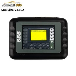 Wholesale sbb immobilizer - 2017 SBB Silca V33.02 SBB Key Programmer No Token Limit Auto Key Programmer SBB Immobilizer Programmer Support most brazil cars