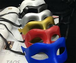 Moda erkekler Venedik Maske Roma Gladyatör Cadılar Bayramı Partisi Maskeleri Mardi Gras Masquerade Maske G086 cheap masquerade masks men gladiator nereden maskeli maskeler erkekler gladyatör tedarikçiler
