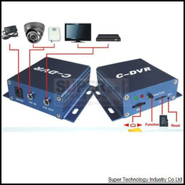 Wholesale Cctv Camera Tf Card - Wholesale- C-DVR,video recorder for wireless&wired camera,TF card video recorder,CCTV Camera recorder,records video when display on monitor