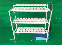 Wholesale Pe Net - NFT Hydroponics System with 90pcs of Net Cup Home Hydroponics System Nutrient Film Technique (NFT)Express Free Shipping ZA3794