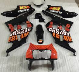 Wholesale Rossi Fairings - Bodywork CBR400RR 96 97 ABS Fairing for Honda CBR400RR 92 93 ROSSI Plastic Fairings CBR400 RR 98 99 1990 - 1999 NC29