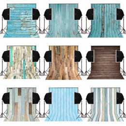 Wholesale Backdrop Camera - 5x7FT vintage colors dusty wood photography backdrops for wedding camera fotograpfica digital cloth studio props photo background vinyl