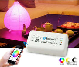 Wholesale Controller Software - Bluetooth RGB led controller for led strip or module,support Bluetooth version 4.0 ,Iphone 4s or above,Magic LED Light software