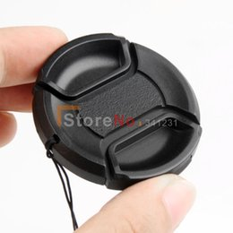 Wholesale Center Filter - Wholesale-Free shipping worldwide 82mm Center Pinch Snap on Front lens Cap for Lens   Filters