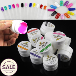 Wholesale Paint Stamps - Wholesale-Gel Nail Polish Gelpolish Vernis Pure UV Gel Color 12pcs Bling Paint For Nails Art Plate Stamping Esmalte Varnish Lacquer DIY