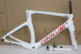 Wholesale Red Fit Bike - New ! Cipollini NK1K carbon road frame road bicycle carbon bicycle frame set Fit Di2 carbon bikes frame bicycle parts Free shipping