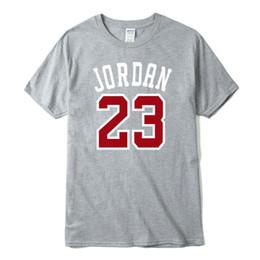 Verano nuevo 23 hombres camiseta Swag algodón estampado manga corta camiseta  hombres moda O-cuello 23 camiseta camisetas Hip Hop Tops XZ-017 182f92f219d