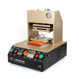 Wholesale Automatic Pressure - Automatic Hot Pressure Bracket Frame laminating machine Laminator Frame Machine LCD Glass Repair machine for iphone 4 5 6 6s Plus