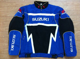 Wholesale Suzuki Racing Gsx - wholesale Fall-F1 Road Racing Cotton Jackets GSN NASCAR Motorcycle Racing Jacket for suzuki gsx-r Car Team FIA moto racing men's jackets