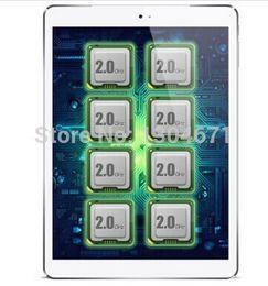 tavoletta octa core 2gb Sconti Cube Talk 9X U65GT MT8392 Octa Core 2.0 GHz Tablet PC 9,7 pollici 3G Chiama 2048x1536 IPS 8.0MP Camera 2GB / 32GB Android 4.2