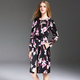 Wholesale Sexy Mini Kimono - Evening Dresses For Womens Printing Top Fashion Beautiful Lady Casual Clothing Autumn Hot Sales Sexy Clubwear Party Mini Dress YM16487