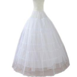 Wholesale Hoop Skirts For Sale - 2017 Newest Design Hot Sale Hand Made 3 Hoops Ball Gown Petticoat Slips for Women Wedding Skirt Underskirt Tutu Skirt