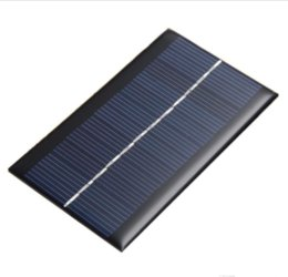 Wholesale Charger Toy - Solar Panel Charger 1W Portable Ultra Thin 6V USB Ports for light toys