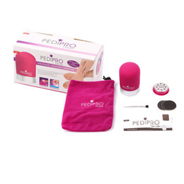 Wholesale Wholesale Personal Care Kit - Deluxe Personal Pedicure Kit Electric Callus Remover for Skin Heels & Toes Foot Care Bullet Pedipro