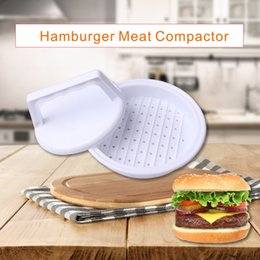 Wholesale Hamburger Presses - High Quality Food Grade Plastic Hamburger Meat Compactor Making Hamburgers Processing Machines Kitchen Gadget Fall In Love With The Kitchen
