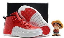 Wholesale Toddlers Boy Shoes Cheap - cheap Kids Air Retro 12 Shoes Children Basketball Shoes for Boys Girls Retro 12s Black Sports Shoe Toddlers Athletic Shoes Birthday Gift