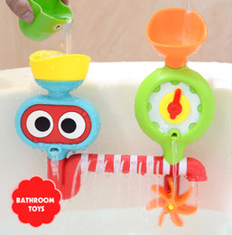 Wholesale Wholesale Baby Shower Items - Bathroom toys turn music toys bath shower baby children play water toys