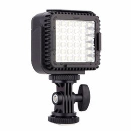Wholesale Dimmable For Led - CN-LUX360 5400K Dimmable LED Video Light Lamp for Canon for Nikon Camera DV Camcorder