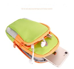 Wholesale Lg Smartphone Covers - Universal Sports Armband Case Zippered Fitness Running Armand Bag Pouch Jogging Workout Cover for Mobile Phone Smartphone 92025