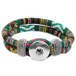Wholesale 6mm Leather Cord - Wholesale-imitation leather rivca Button bracelet cord size 6mm for 18mm button snap pu bracelet