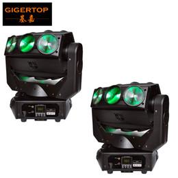 Canada Prix de vente TP-L676 Éclairage de scène 2x lumière principale mobile de faisceau de LED 9x12W Mirage Nouvelle conception DMX 512 équipement d'éclairage de scène de DJ Offre